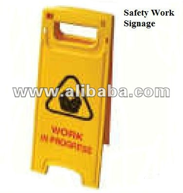 Safety Work Sign
