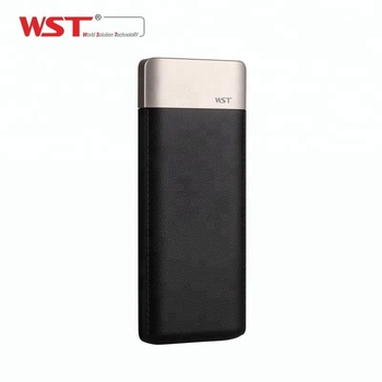 Consumer Electronics dual usb Li-polymer battery power bank 9000 mah for cellphone