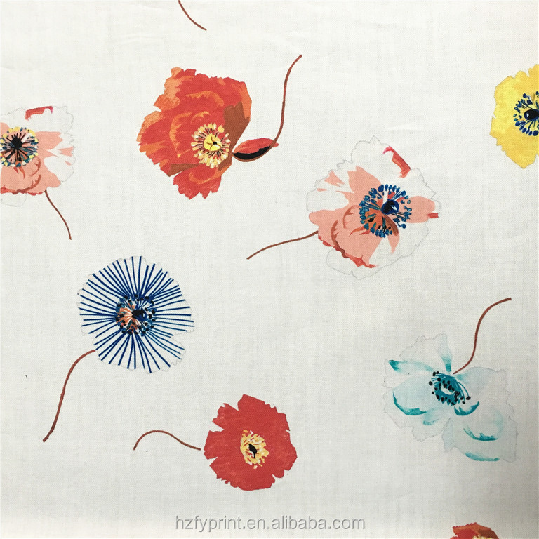 Custom digital printing clothing knitted cotton textile fabric