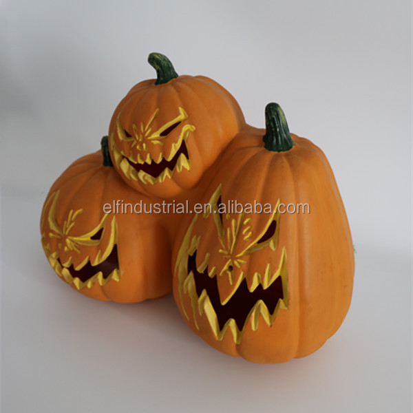 china supplier cool halloween pumpkin carvings with led decorative lights buyers of handicraft products