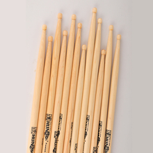 Durable Wood Bead American Hickory Drum Stick 7A 5A 5B Natural Drumsticks