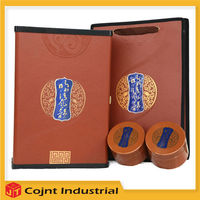 new arrival products stock lined new product tea PVC leather box packaging