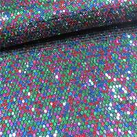 familiar with ODM colorful/many different colors chunky glitter wall fabric