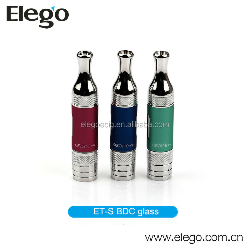 Pyrex Glass Tube Clearomizer Aspire ET-S BDC