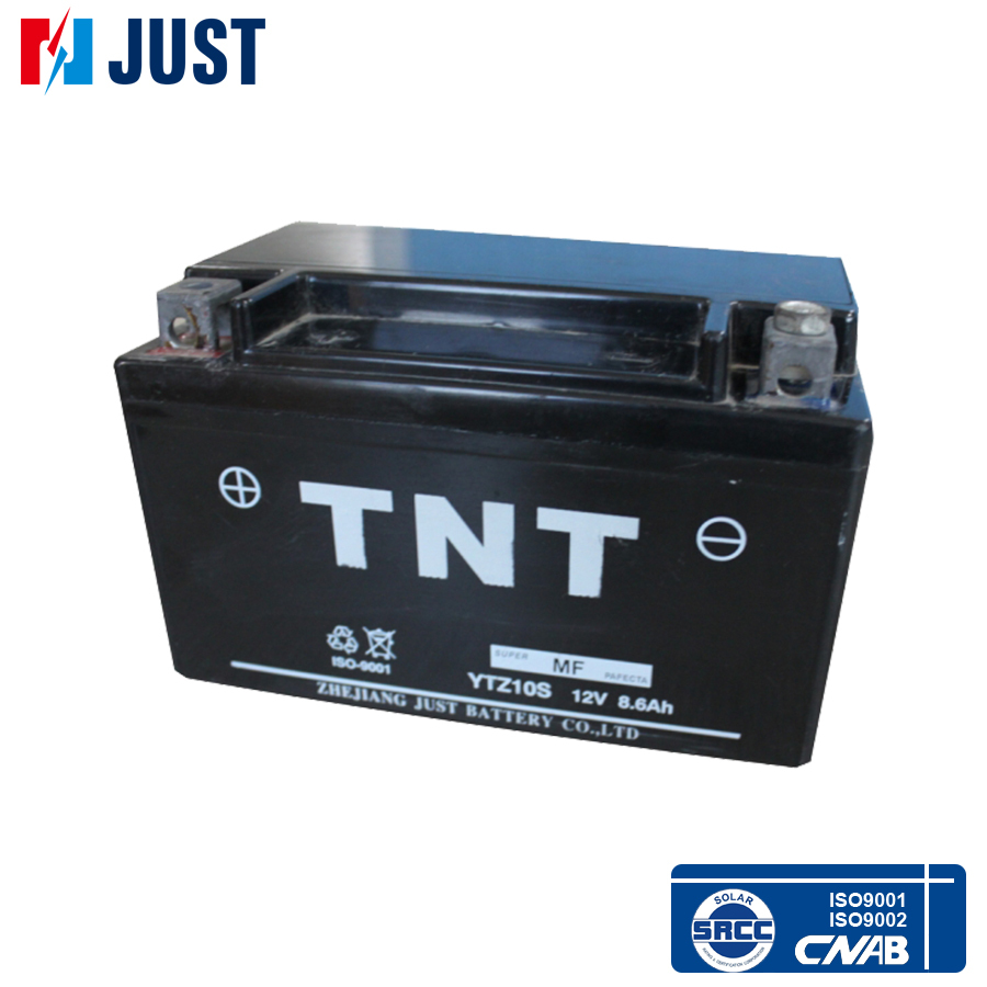 China supplier 12v 8.6ah sealed lead acid motorcycle battery case
