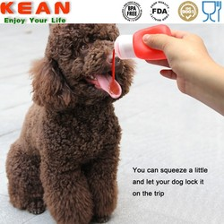 FDA 60 ml soft plastic dog shampoo bottle
