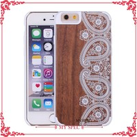 China suppliers wholesale logo printing real wood/bamboo phone cover case for Galaxy Note3
