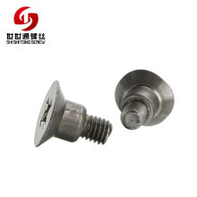 Quality Reliable Manufacturer Supply Cross Titanium Step Beveled Screws