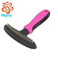 Durable Pet Products For Dog Grooming Stainless Steel Pin Comb