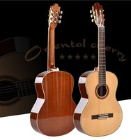 39 inch high quality handmade musical instrument guitar classical guitar acoustic guitar