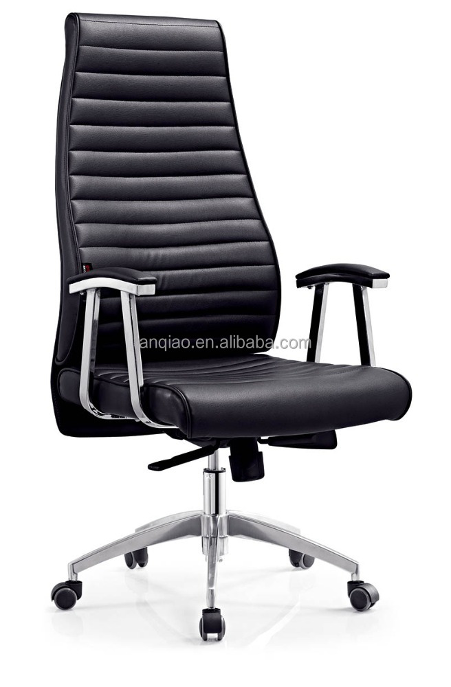 new design high back with solid aluminum leg exective office chair