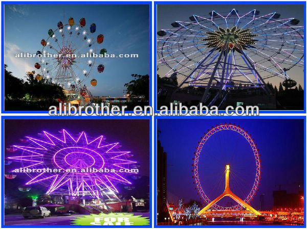 high quality amusement park rides Large kids 20m ferris wheel