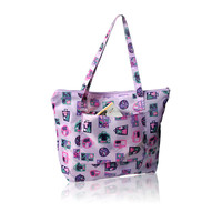 2017 Custom fashion style organic recyclable shopping tote bag
