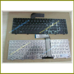Laptop Notebook Keyboard for DELL Inspiron N5110 Black