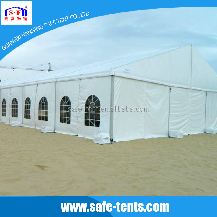 2016 Outdoor waterproof white large cheap wedding marquee party tent