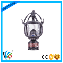 Factory Single Cartridge Silicone Gas Full Face Cartridge Filter Respirator Mask