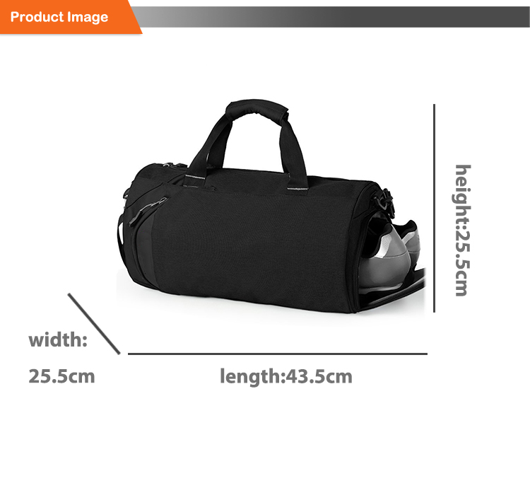 Eco-friendly Customized Logos Multifunction 420D Waterproof Sports Shoes Bag