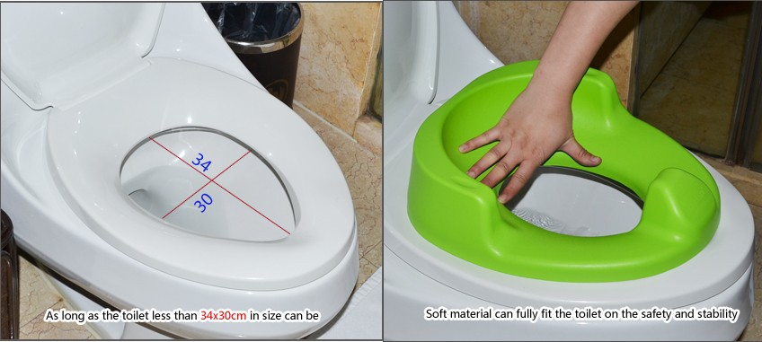 PU material baby toilet seat kids safety potty chair