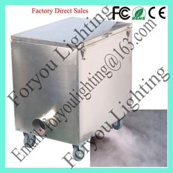 china supplier manufacture hot selling 4000w dry ice fog machine / dry ice machine