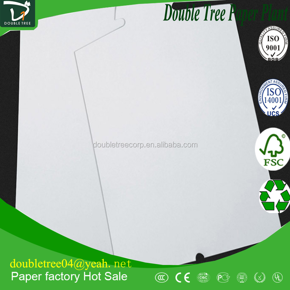 2016 coated white duplex board manufacturer in indonesia grey back mills/paper mill in China supplier