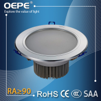 Aluminum Housing round recessed 9 watt led downlight spot light 9w