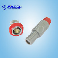 Factory direct sale 10 pin plastic female male wire connector