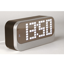 Factory sell digital led alarm clock with tempreature display for elder