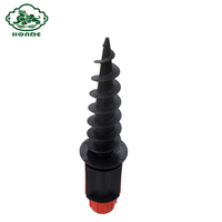 Plastic Ground Screw Earth Pole Anchor Screw Anchor