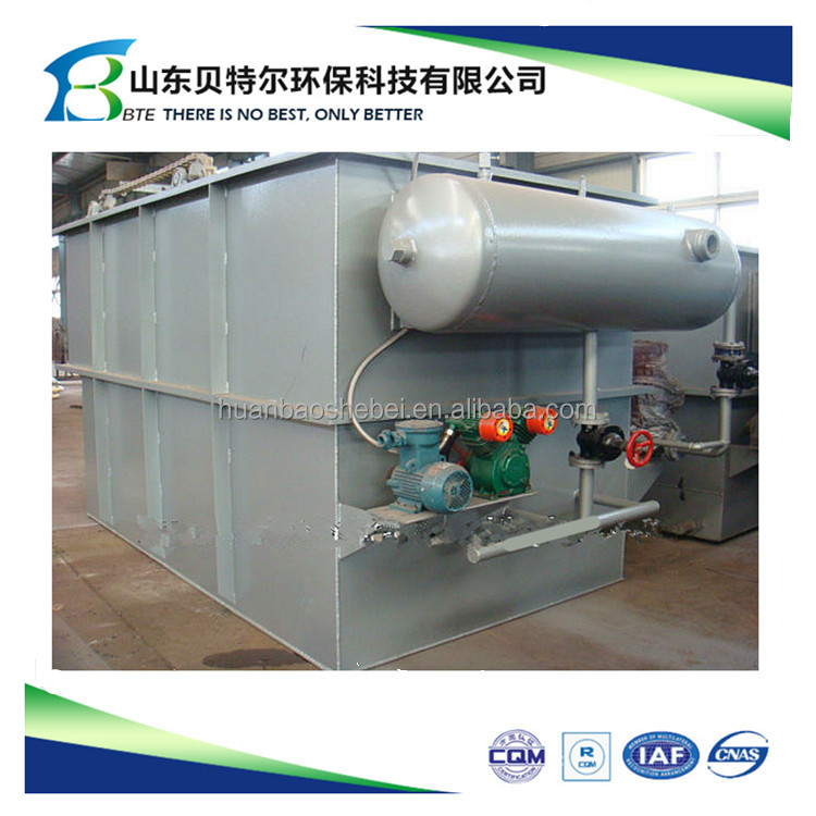 High Efficency Printing Sewage Primary Disposal Plant , Dissolved Air Flotation Clarifier