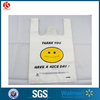 Vest Plastic Bags/shopping Carrier Bags With Printing Smile Face