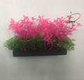 Plastic Artificial Green Grass Underwater Simulation Plastic Aquarium Plant for Fish Tank Decoration Ornament