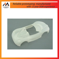 3D printing SLA SLS plastic fast prototyping small model car