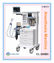 "CL-200B4 CE approved Advanced Multi-function hospital respirator equipment anesthesia machine with 10.4"" Ventilator"