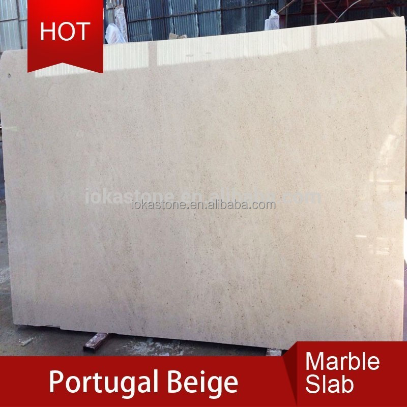 Natural Stone Slab Beige Marble Portugal
