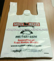 high quality bags plastic t shirt