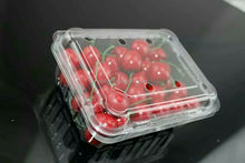 Clear small plastic packaging box gift box