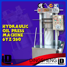 home produce auotomatic hydraulic oil extractor, oil press making machine