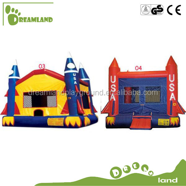 2014 Rocket design used commercial inflatable bouncers for sale canada