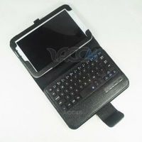 Keyboard For SAMSUNG Galaxy Note 8.0 Bluetooth Keyboard Dock + Smart Cover Case with Kickstand (PU Leather)