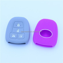 key fob Toyota Camry 4 buttons remote key case Toy blank keys with logo with door button