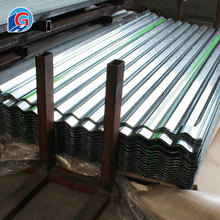 Factory price roof usage <strong>flat</strong> rolled corrugated zinc cr steel sheet