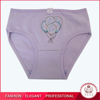 100% cotton little girls underwear
