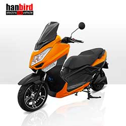 Adult 3000w Electric Motorcycle with Pedals for Canada