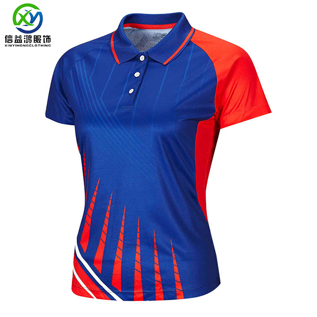 OEM sublimation digital printed Dry fit moisture wicking Polo shirts golf shirts brand quality