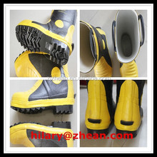 Safety Protective Fire Rubber Boots Fire Shoes