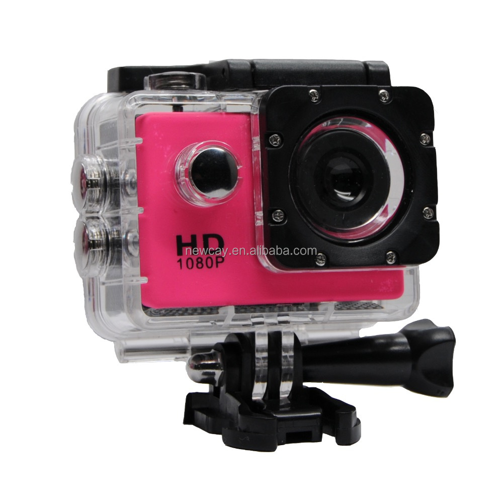 "720P mini 1.5""inch sports camera 30M waterproof outdoor action camera seven colors optionally"