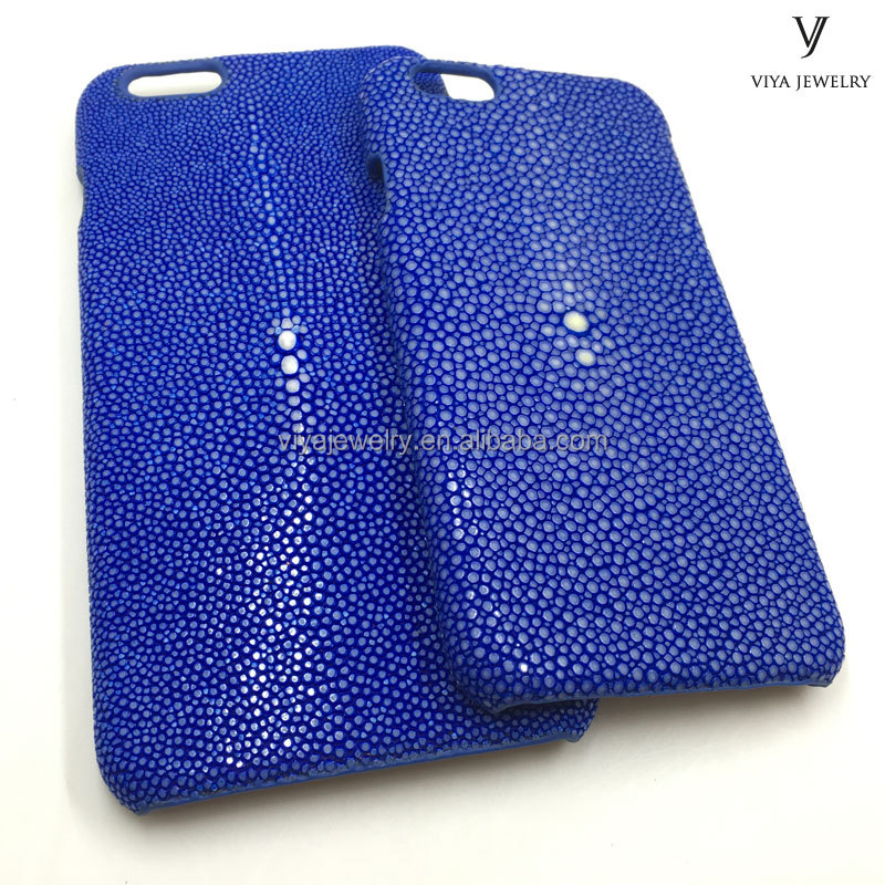 luxury stingray skin cover python skin cover high quality cell mobile phone cover for iphone 6 6plus