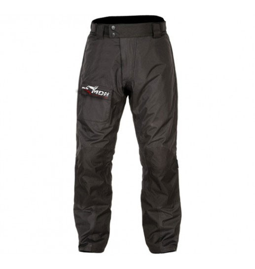 Black Color Village Rain Trousers