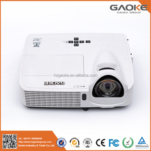 Projector oem odm projector dlp 4k wall mounted short throw overhead projector price