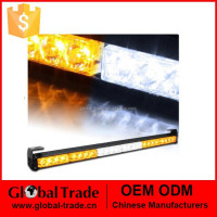 24 Led 60CM long Bar Amber Light Bar Car Dash Strobe Flashing Emgergency Warning Police Fireman Daytime Work Lamp Light A1928